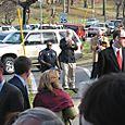 Bham PD escort the party through Avondale