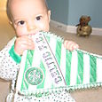I chew this Celtic banner