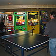 The ping pong commences