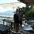 At the taverna