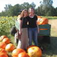Alisa and I go to the pumpkin patch