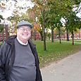 Dad on the campus