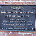Where Rose Kennedy was baptized