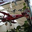 These airplanes were made out of cans