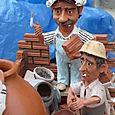 Kitschy Spanish pottery