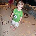 Our little palentologist