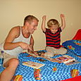 Uncle Ryan reads to Nate
