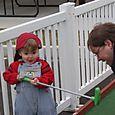 Nate loved the mini golf