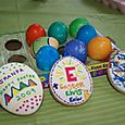 We added a new activity to our Easter fun this year