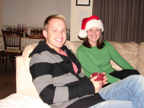 Ryan and Megan share some yule
