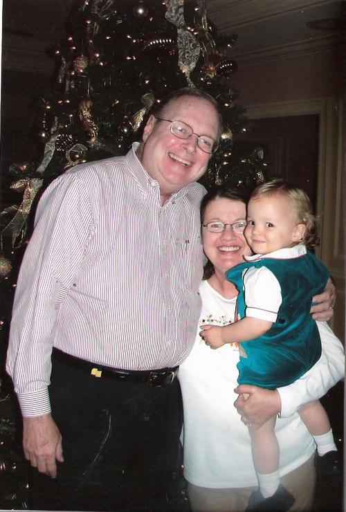 Natey and Grandma and Grandpa