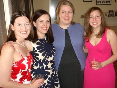 Megan, Hannah, Natalie and Kristen