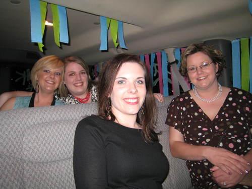 Inside the party van
