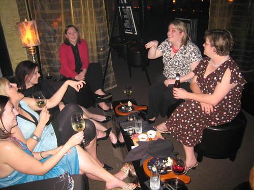 Girls at the Wine Loft