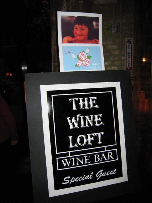 The Wine Loft was great!